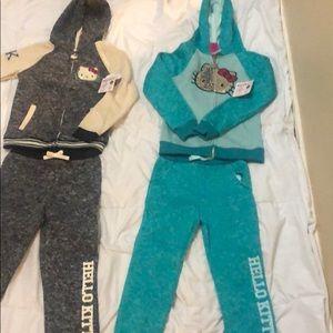 2 hello kitty jumpsuits